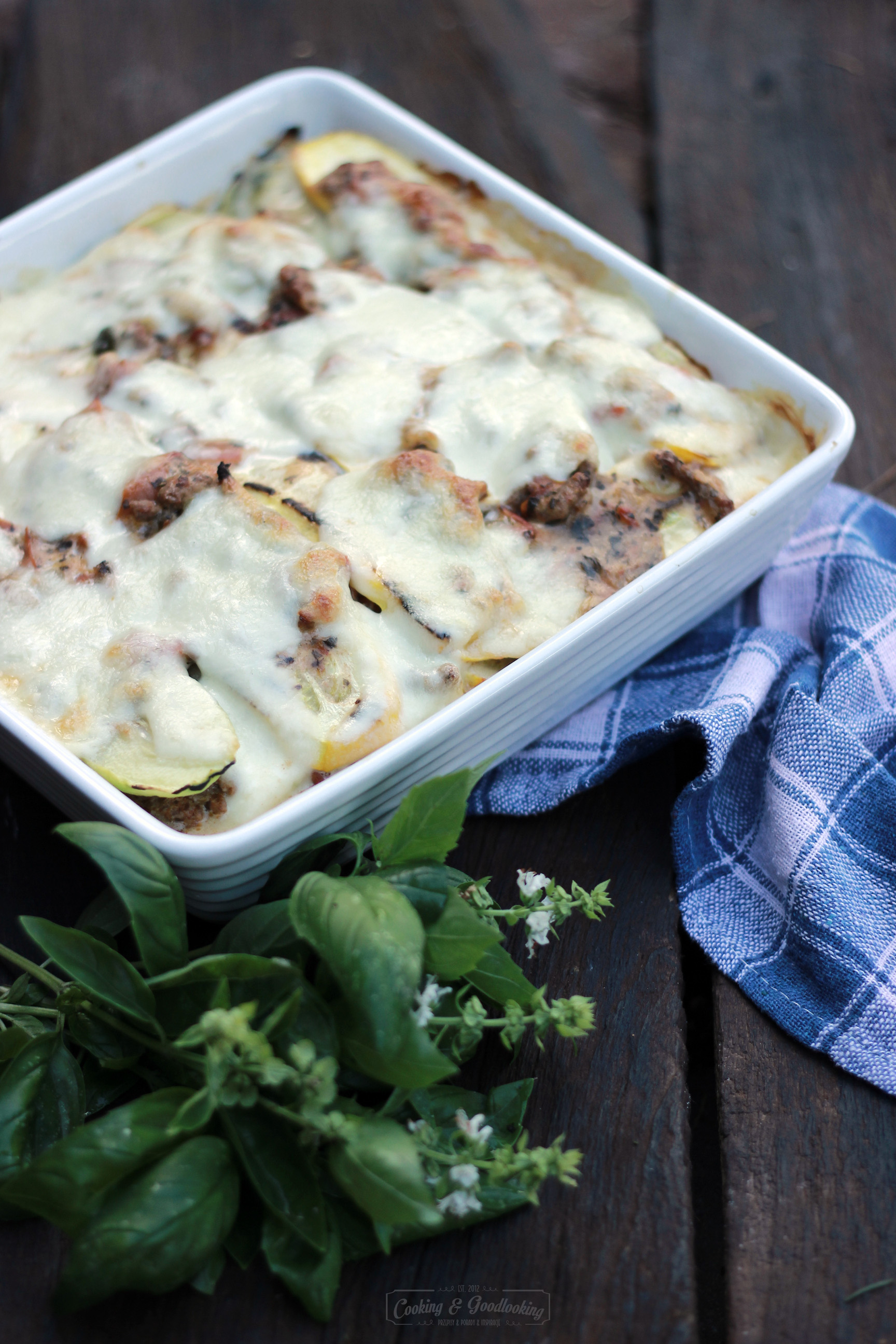 Lekkie lasagne z cukinii bez makaronu/Light zuccinni lasagne no pasta